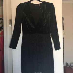 Black Free People mini dress 2